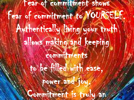 HOW COMMITTED ARE YOU, REALLY?