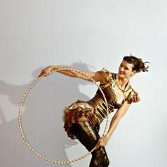 Lisa Looping in doll dress
