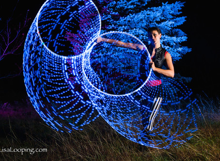 Astral Hoops, my favourite LED flow toys