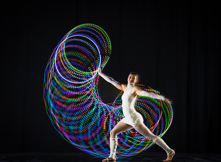 New Programmable Led Hoops