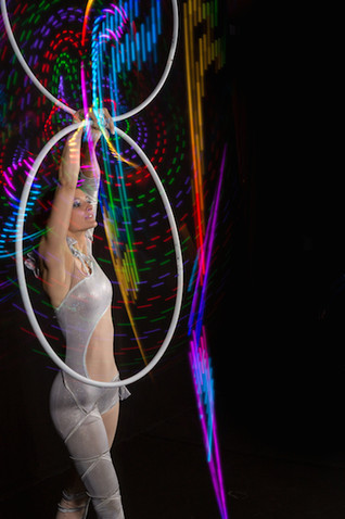 Multi hula hoop colorful