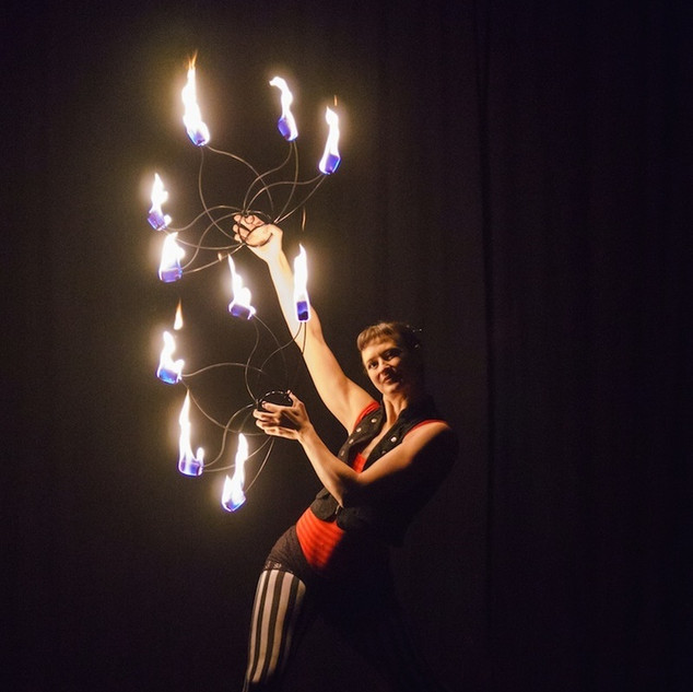 Fire Finger Show with Lisa Looping