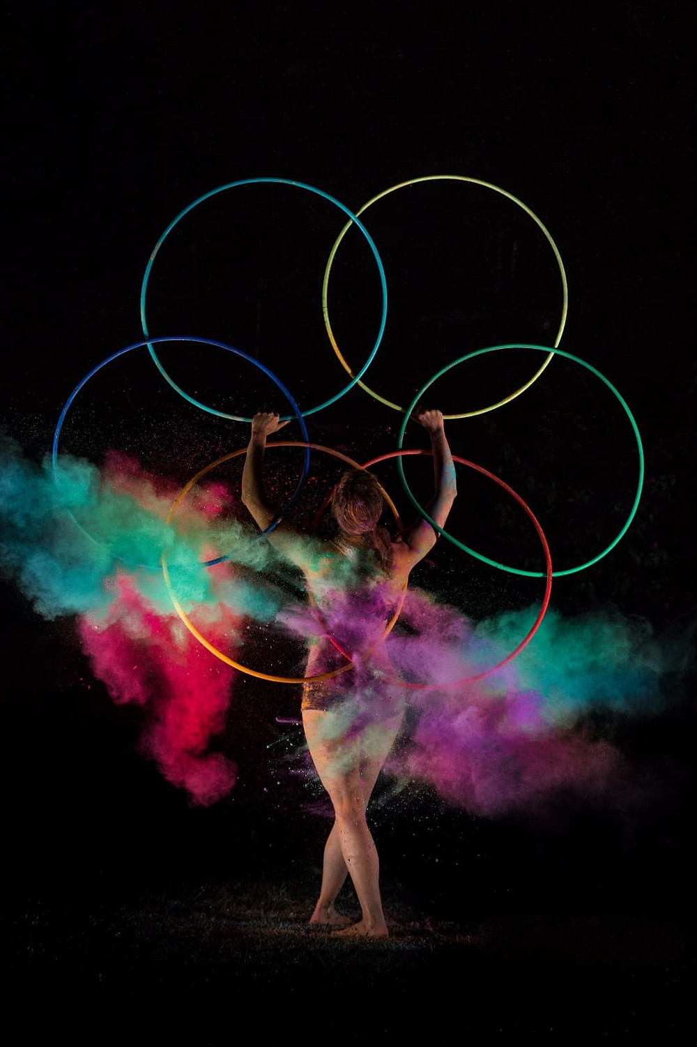 Artistic photo about Lisa multihooping