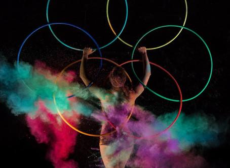 Colorful Hula Hoop