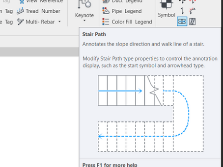 Automatic Stair Paths in Revit with Dynamo and python