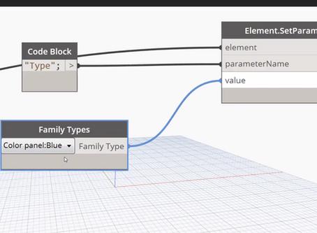 Dynamo - using a dictionary to randomize family types