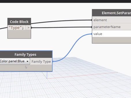 Dynamo - using a dictionary to randomize family types