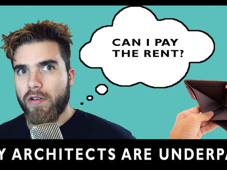 Why architects are underpaid?