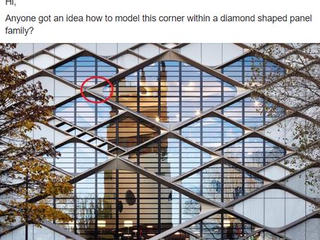 Rhomboid Curtain Panel Tutorial