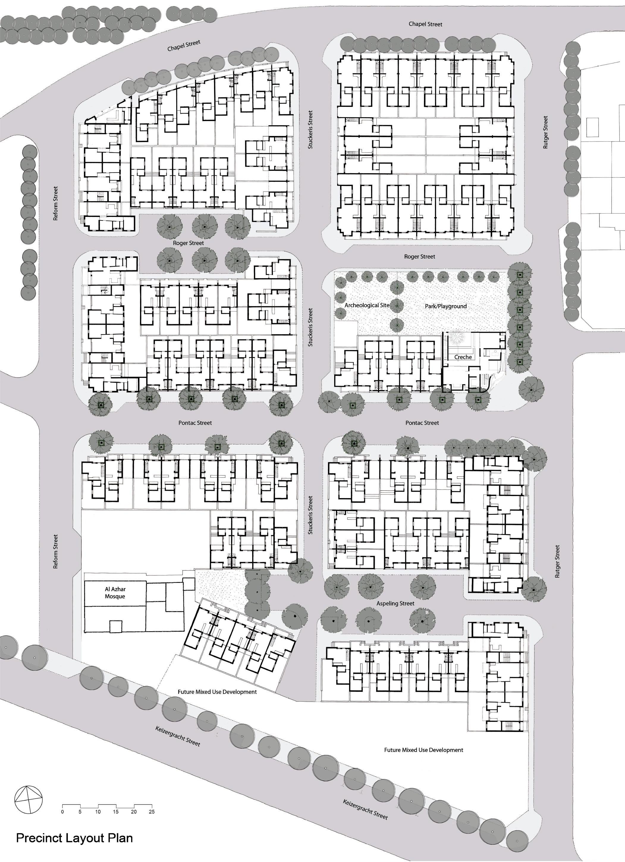 precinct layout plan