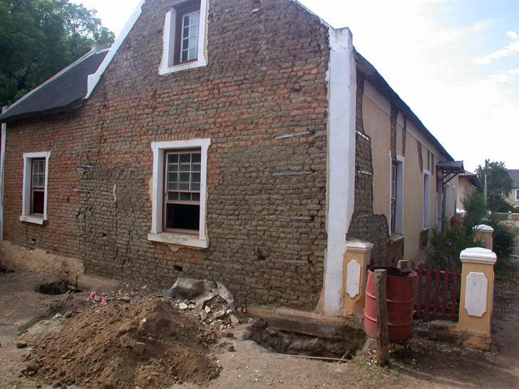 retoration guest house mission werf