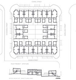 First 24 houses PLAN & SECTION