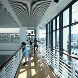 Upper level gallery walkway