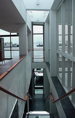 Stairwell to sea