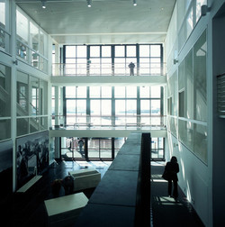 Main internal court - view to sea