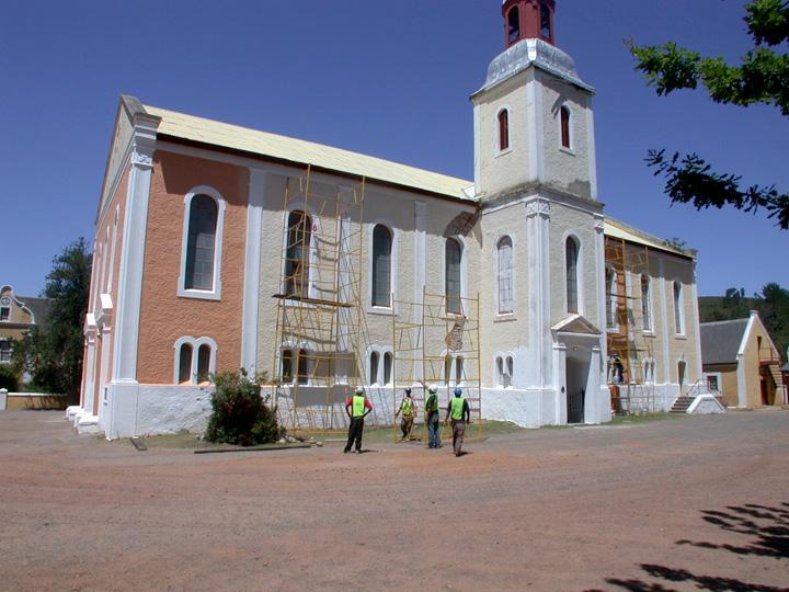 church restoration werf