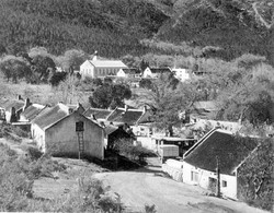 historic view of houses