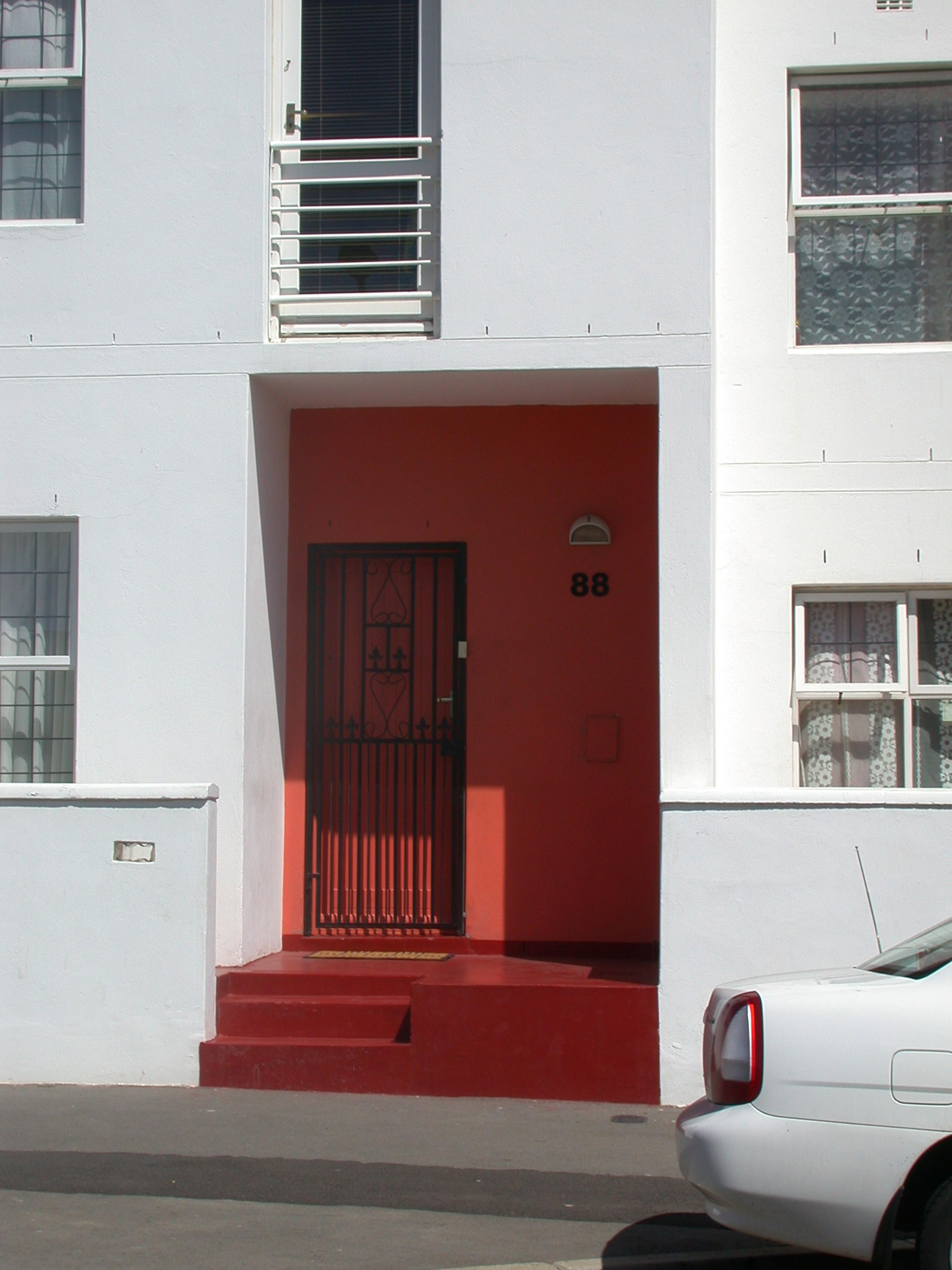 Chapel Street Door Detail