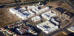 bird-seye aerial view of D6 pilot project 2