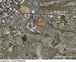 locality context aerial photograph