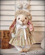 авторские мишки тедди,teddy bear,мишки тедди,плюшевые мишки,винтажные мишки,мишки Ольги Рыбкиной,состаренные мишки тедди,купить мишку тедди
