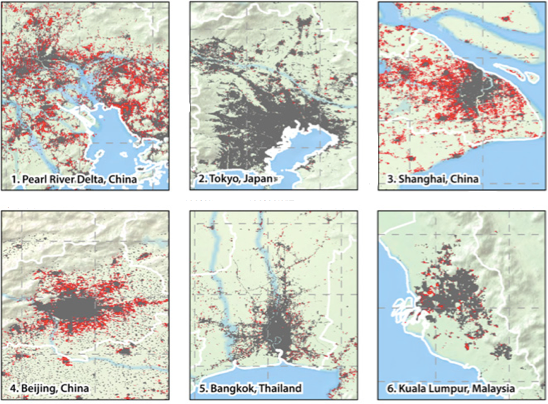 APAC Urbanisation: A Bird's Eye View of Urban Growth