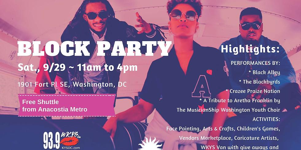 Anacostia Community Block Party