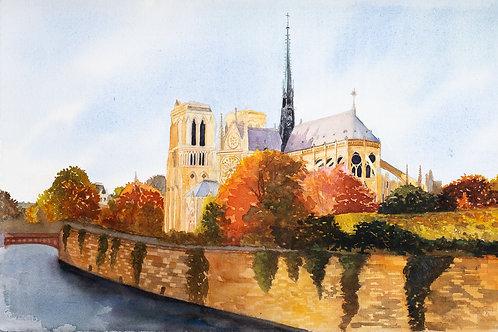 Notre Dame (Print)