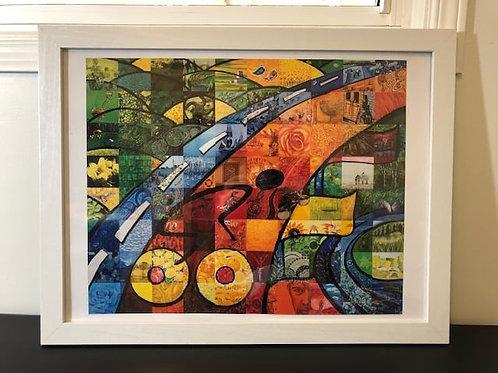 FASM print (framed)