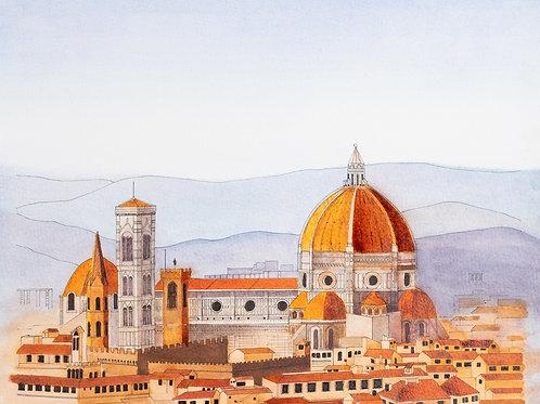 Italy Study (Print)