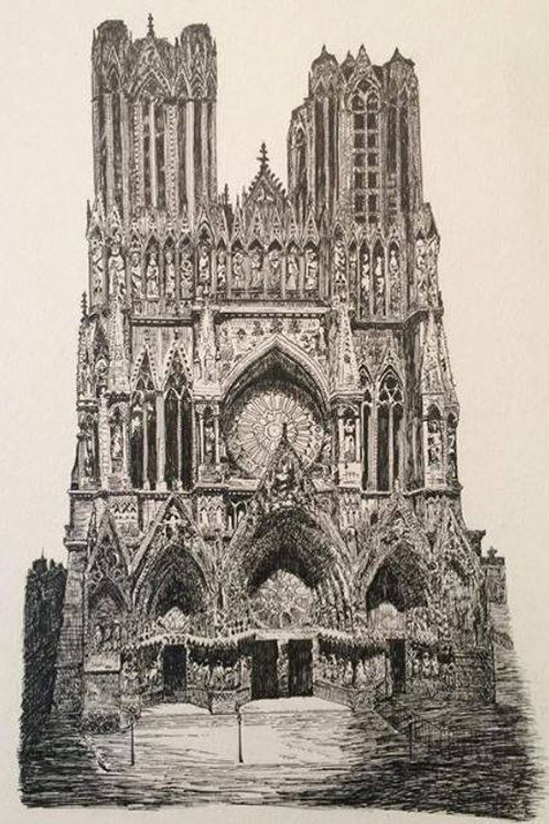 Cathedral Study (Print)