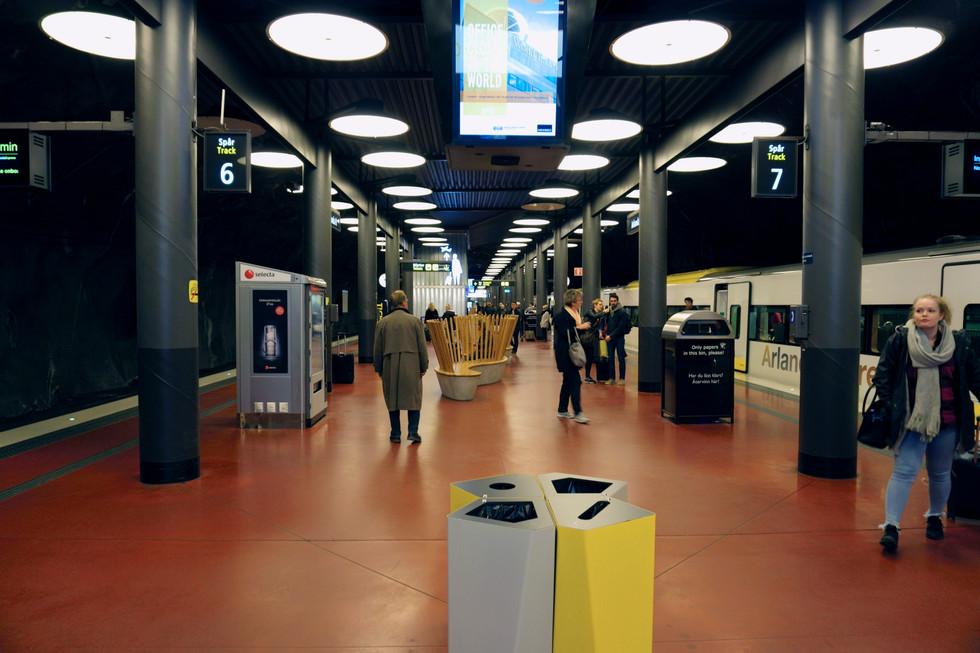 Stockholm Arlandaexpress Platform