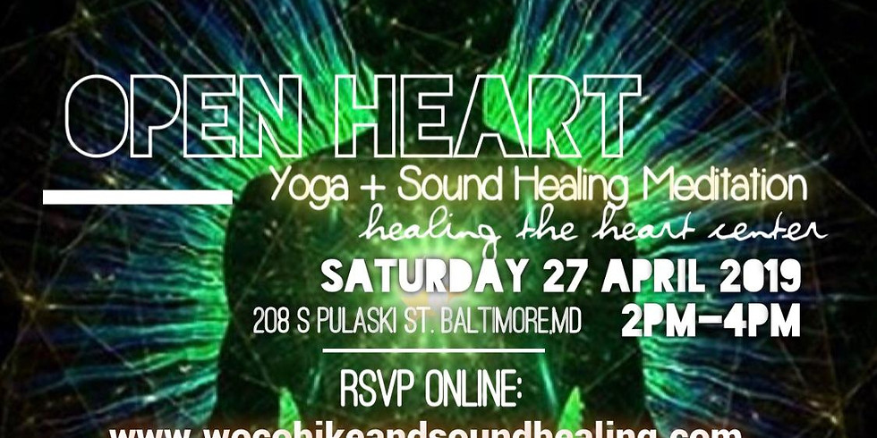 Open Heart Yoga and Sound Healing Meditation