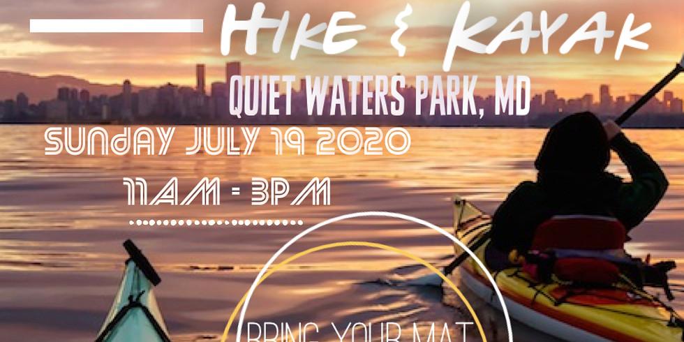 Hotter Than July: Hike & Kayak