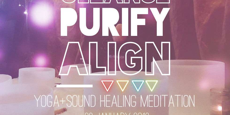 Cleanse + Purify + Align Sound Healing Meditation