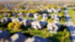 high-angle-shot-of-suburban-neighborhood