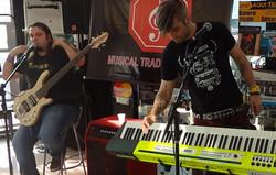 Junior Carelli e Fernando Quesada