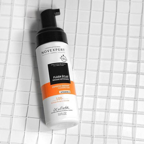 Novexpert Мусс очищающий для сияния кожи с витамином С