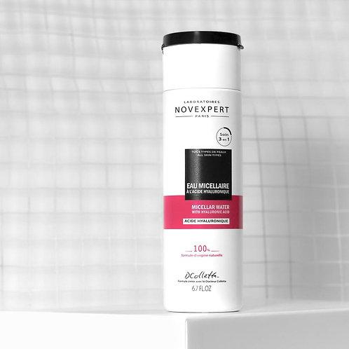 Novexpert Мицеллярная вода с гиалуроновой кислотой