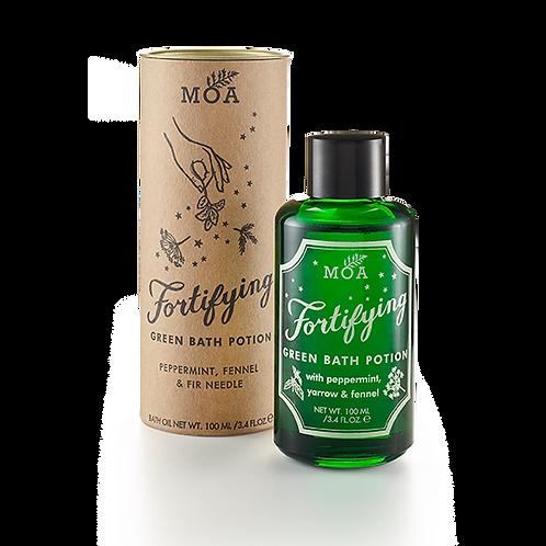 MOA FORTIFYING GREEN BATH POTION Расслабляющее зелье для тела