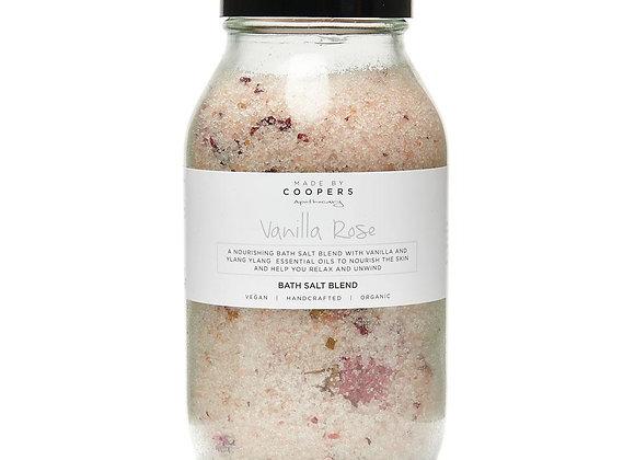 Vanilla Rose Bath Salt