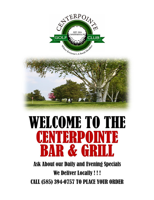 2021 Centerpointe Daily Menu Cover for W