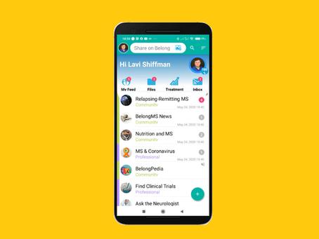 """אפליקצית BelongMS מושקת גם בארה""""ב וקנדה"""
