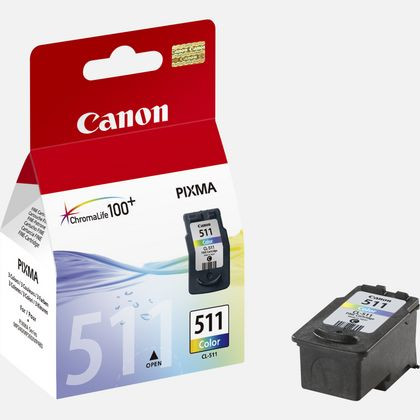 Ink Canon PG 511 Tri Color Original Cartridge