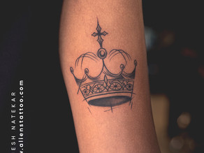 Feel Royal With Crown Tattoos