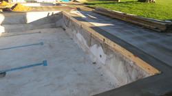 new concrete ringbeam complete