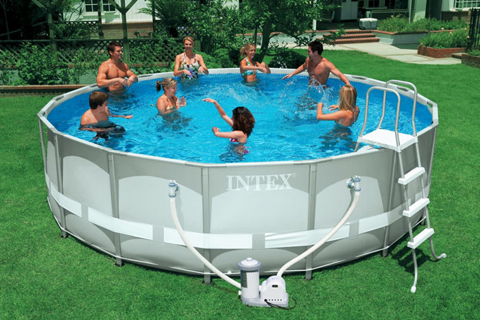 INTEX ABOVE GROUND POOL