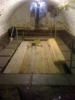 indoor basement swimming pool