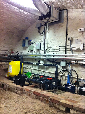 Heating and plant equipment