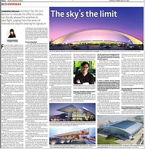 Article about architect Hin Tan, director of HTAL Architects and Designers